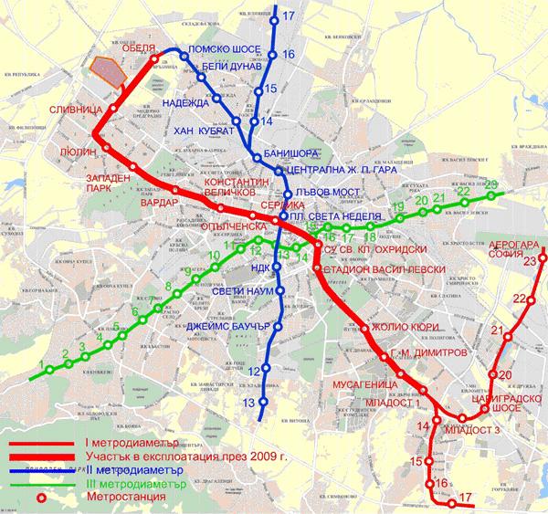 Satelitni Gradove Na Stolicata Iskat Dostp Do Metroto